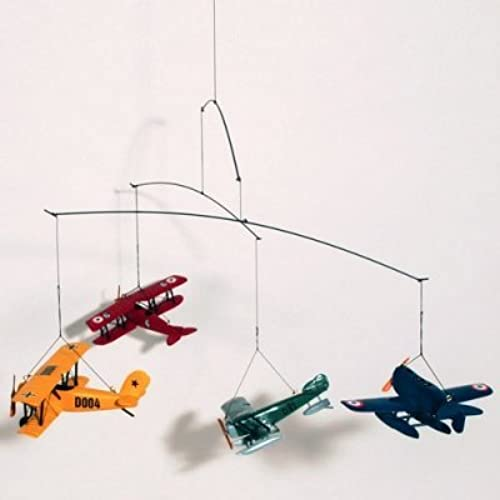 Authentic Models Flight Mobile with 1920's Vintage Airplanes by Authentic Models