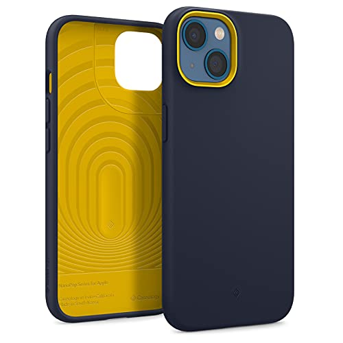 Caseology Nano Pop Coque Compatible avec iPhone 13 Mini - Bl