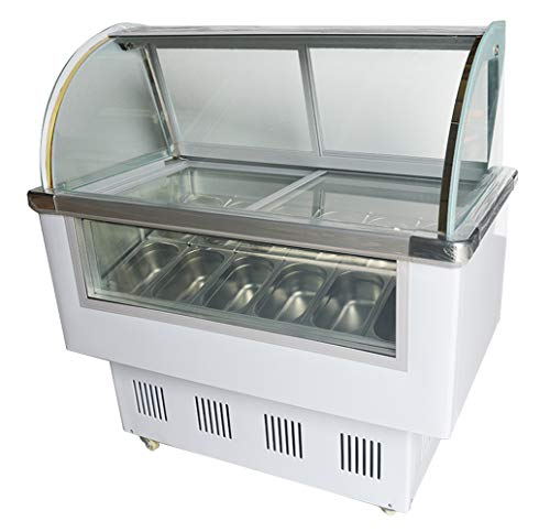Maxx Cold 12 Flavor 20 cu ft Commercial Ice Cream Dipping Cabinet Freezer