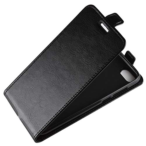 Huawei Nova 4 Case, Fettion Premium PU Leather Wallet Flip Phone Protective Case Cover for Huawei Nova4 Smartphone (Flip Black)