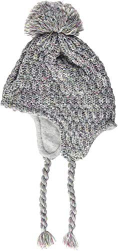 Döll Baby-Mädchen Inkamütze Strick Mütze, Grau (Light Gray Melange 8100), 47