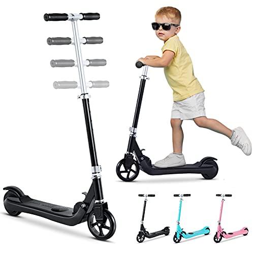 Elektro Scooter für Kinder, Elektro Kinderroller ab 6 bis 12 Jahren, Electric Roller 8 km/h, 5.5