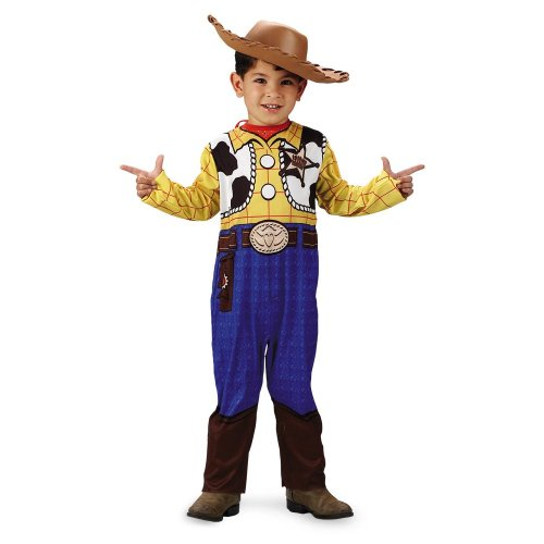 Disguise 187306 Toy Story Woody-Klassiker Kleinkind-Kind-Kost-m Gr--e: Kleinkind (3-4T)