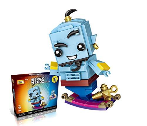 Lámpara de Aladin Bloques de construcción de partículas pequeños Pop PVZ Desarrollo de bloques de construcción mentales Modelo de muñeca de juguete Mini q Versión Versión Versión Montaje de acción Muñ