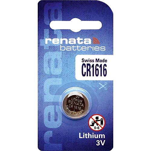 10x Renata 1616Swiss Made bottone al litio