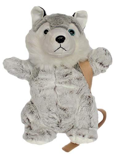 Inware 6840 - Kinder Rucksack Husky, grau/meliert