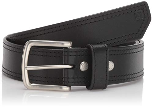 5.11 Tactical Men's 1.5-Inch Full Grain Matte Leather Arc Belt, Ergonomic Curve, Style 59493