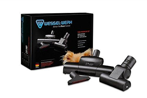 Set de 3 balais d'aspirateur pour poils d'animaux Wessel-Werk