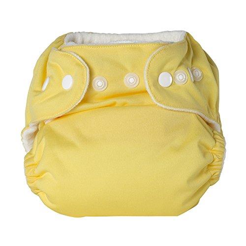 P'tits Dessous - Sweet Lili - Couche lavable bébé - Taille junior 11-20kg - Coloris Citron
