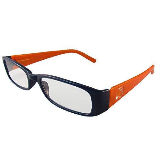 NFL Denver Broncos Team Colored Reading Glasses Power +2.00, 3 Pack