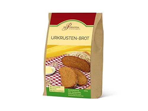 Backmischung Urkrusten-Brot 600g inkl. Sonnenblumenkerne, Haferflocken und Hefe