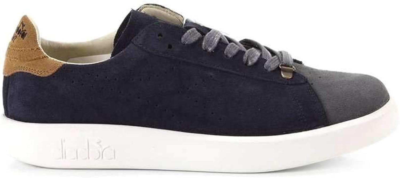 Diadora Heritage shoes Basse Sneakers men blue (Game_H_Kidskin)