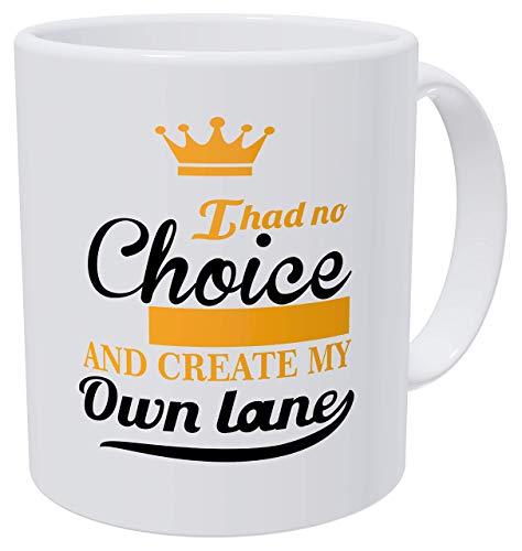 Tazas de café para mujer con texto en inglés 'I Had No Choice, Work Birthday For Women and Boss Lady de 300 ml, para graduación y agradecimiento