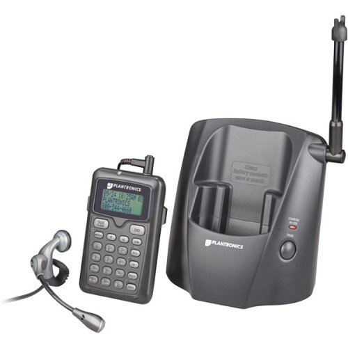 Plantronics CT11 2.4 GHz DSS Cordless Phone with MX150 Headset