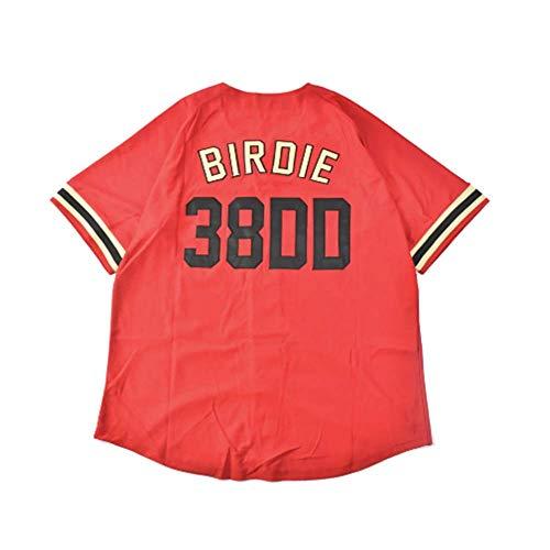 Al Bundy Men's Button Down Baseball Jersey Red