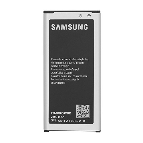 OEM Samsung EB-BG800BBU Battery for Samsung Galaxy S5 Mini - Non Retail Packaging - Black/Silver