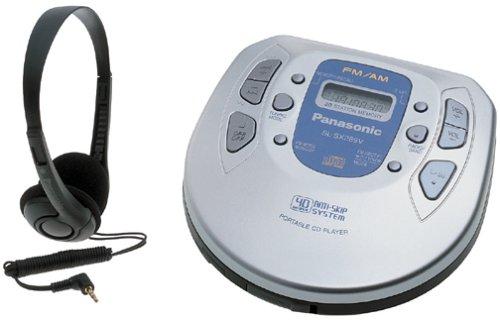 Panasonic SL-SX289V Jogger Model Portable CD Player