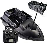 Mdcgok Futterboot GPS Angelköderboot Multifunktionale Position Auto Cruise Fernbedienung Fischerköderboot Mit Doppelmotoren Und Aufbewahrungstasche