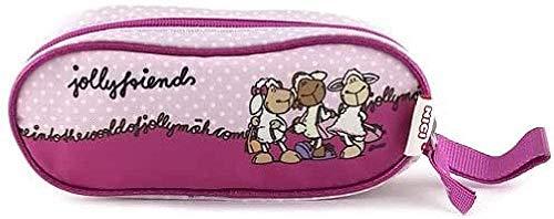 NICI Kinder-Sporttasche 16379, Pink/Hell Violettt