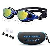 AIKOTOO Prescription Swimming Goggles