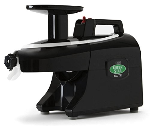 Tribest Greenstar Elite GSE5010 Noir - Extracteur De Jus Horizontal