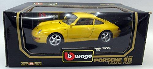Modellauto Porsche 911 Carrera 1993 993 violett 1:18