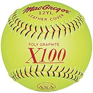 MacGregor ASA Fast Pitch Softball (One Dozen)