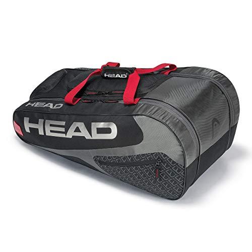 HEAD Unisex– Erwachsene Elite Allcourt Tennistasche, Black/red, Einheitsgröße