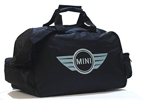 Mini Cooper Logo Sporttasche Leichte Seesack Reisegepaeck Duffel Wochenende Uebernachtung Taschen fuer Reisen Sport Gym Urlaub