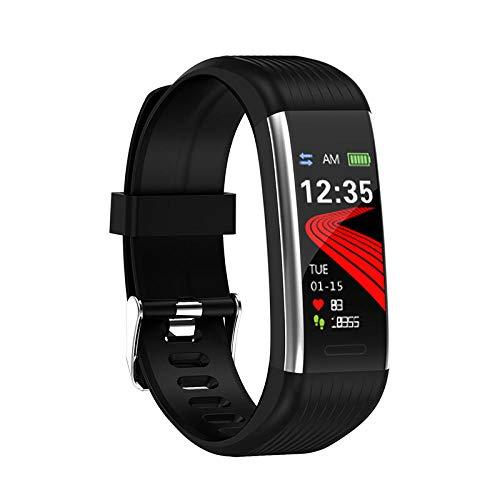 Cynyy Smart Band Blutdruckmessung Schrittzähler Fitness Tracker Uhr Smart Armband Frauen Männer Wasserdicht Für Android Ios-R1 Silber