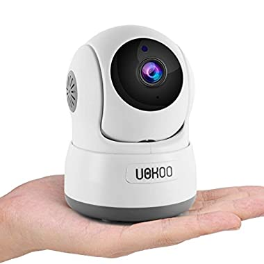 Wireless Security Camera, 720P HD Home WiFi Wireless Security Surveillance IP Camera with Motion Detection Pan/Tilt, 2 Way Audio and Night Vision Baby Monitor, Nanny Cam (UPGRADED 2018)