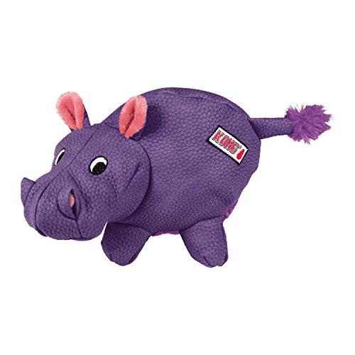 Kong Phatz Nilpferd-Spielzeug für Haustiere, Größe M