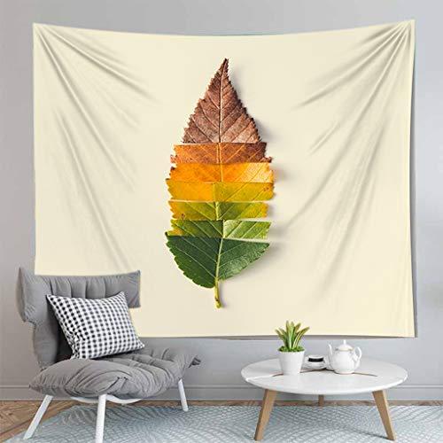 MIASDUANFA tapizTapiz de Hojas Verdes Planta Tropical Colgante de Pared casa de Campo decoración del hogar tapices Mantel Colcha Alfombra de Tienda