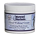 Nuwati Herbals Cloud Walking – Comforting Body Cream with Lavender, St John's Wort, Chamomile, 4 Ounces