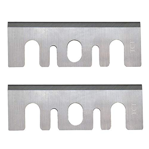3-1/4 Carbide Tipped Planer Blades compatible Pneumatics Inches Replacement Resharpenable for Hitachi F20A 2pcs