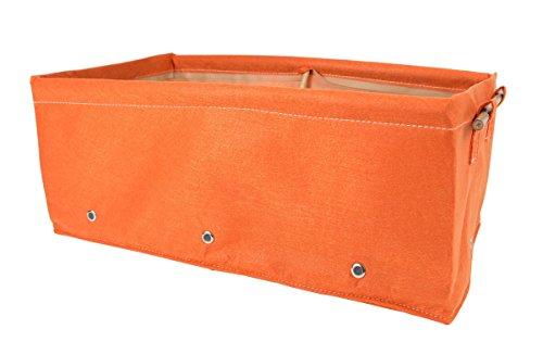 Bloembagz Lit surélevé Tissu Pot de fleurs Orange 45 litres