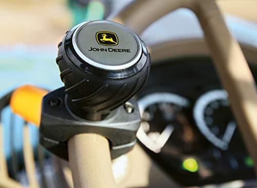 John Deere Luxus-Lenkradknauf Lenkhilfe mit schwarz-gelbem Logo