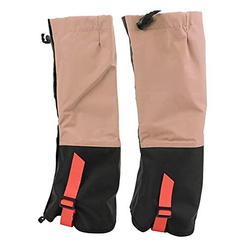 01 Calzado Polainas, Cómoda Funda para Botas para Acampar para Cruzar el Desierto para niños para Esquiar para Caminar para Deportes de Nieve para niños(Rosa Carne)