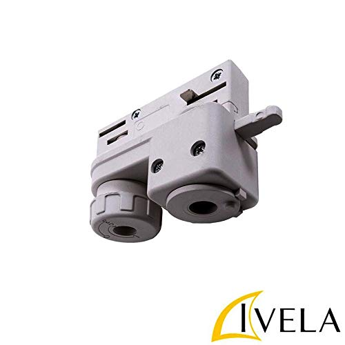 IVELA 7601–00-w20Netzteil elektromechanisch grau Zubehör Schiene dreiphasig Rahmen 7511