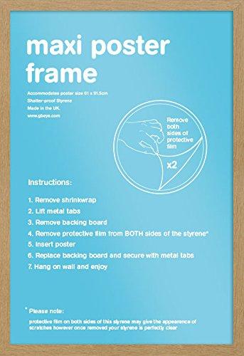 GB eye Frame, Wood, Oak, 0 cm