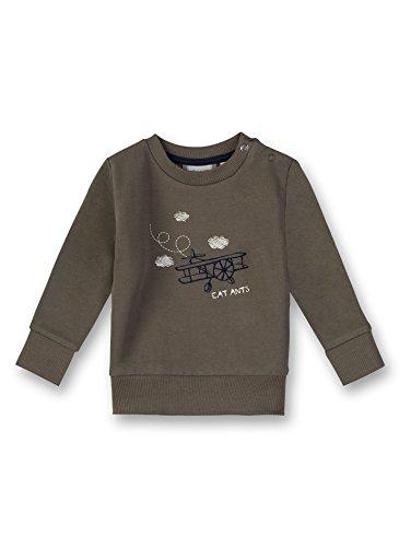 Sanetta Sanetta Baby-Jungen Sweatshirt, Grün (Leaf 4392.0), 56