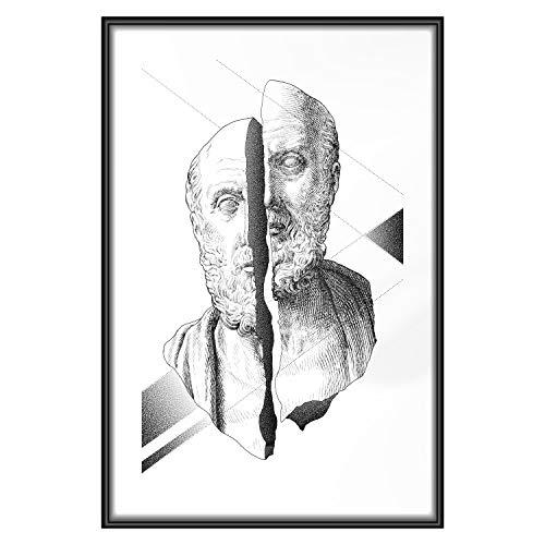 murando - Bilder, Poster, Kunstdrucke & Skulpturen in #18, Größe 40x60 cm Poster im schwarzem Rahmen