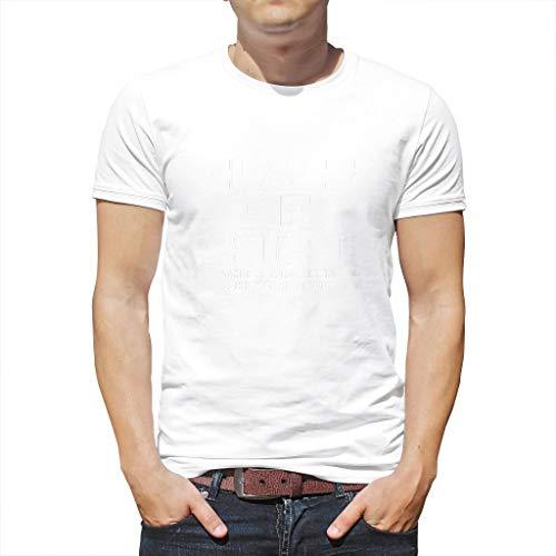 YxueSond Heren Cool Senior Klasse van 2020 Toiletpapier Het jaar waarin Shit Real Shirt bedrukte Tops T-Shirt voor Mannen