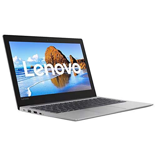 Lenovo 130S-11IGM 11.6' HD Laptop, Intel Celeron N4000, 4GB RAM, 64GB eMMC, 1-Year Office 365, Windows 10 en S Model - Gris