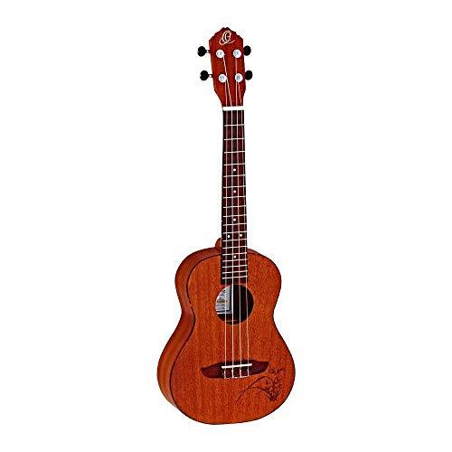 Ortega guitarras ru5-so–Ukelele soprano (con tapa de pícea y cu