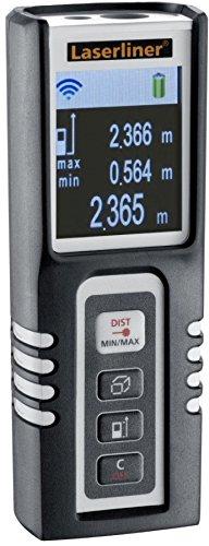 Laserliner DistanceMaster Compact Pro Télémètre Laser (distance meter pieds entrée m noir AAA-10 à 40 °C)