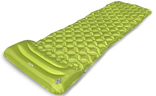 DD superleichte Luftmatratze Unterlagsmatte für Hängematte und Zelt grün