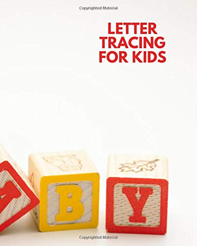 Letter Tracing For Kids: Kids' Activity Book, A-Z Alphabet Tracing Notebook Diary, Children Reward Sticker Book, Unruled Holiday Scrapbook For ... Toddlers, Babies, Pre-schoolers, Girls, Boys,