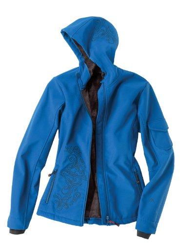 Maier Sports Veste Softshell pour Placid Turquoise Bleu 38