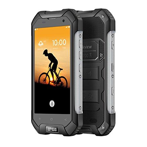 Blackview BV6000 Outdoor Smartphone 4G, 4.7 Zoll HD Android 6.0 OS Octa-Core mit 4500mAh Akku, 3GB RAM + 32GB ROM, 5MP + 13MP Kamera IP68 Wasserdichte / Stoßfest / Staubdichtes (Schwarz)